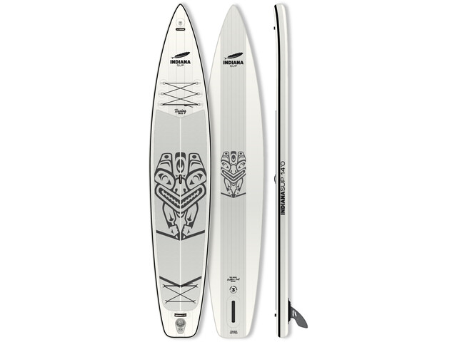 Indiana SUP 14'0 Touring Inflatable Sup white/grey